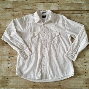 Men's AEO Extreme slim fit button up